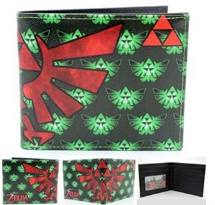 Legend Of Zelda 'Tri Force Print' Bi-Fold Wallet